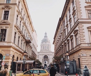 city, architecture, and street image