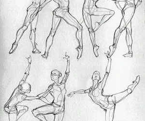 art, draw, and ballet image