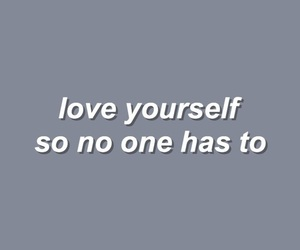 quote, love, and yourself image