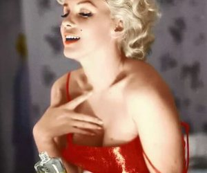 beautiful, Marilyn Monroe, and red image