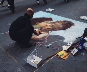 art, angel, and street image