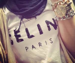 celine, classy, and hijab image
