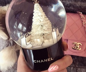 chanel and snowglobe image