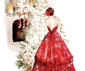 christmas, art, and drawing image