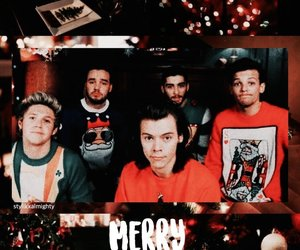 christmas, wallpaper, and Harry Styles image