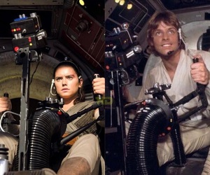 luke skywalker, star wars, and mark hamill image
