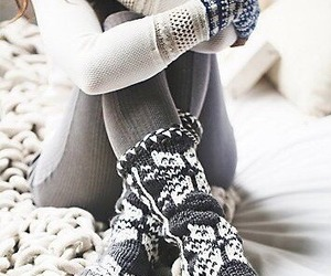 winter, fashion, and socks image