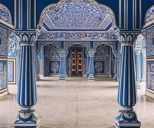 architecture, blue, and jaipur image