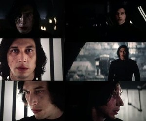 adam driver, kylo ren, and star wars image
