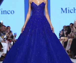 long dresses, haute couture gowns, and michael cinco 2018 image