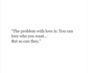 love, can, and problem image