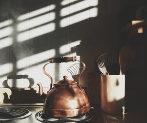 tea, kitchen, and morning image