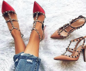 heels, shoes, and spikes image