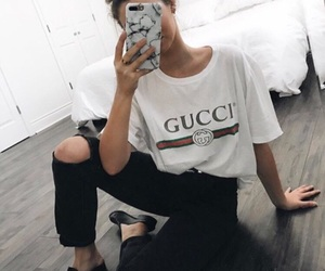 gucci, fashion, and outfit image