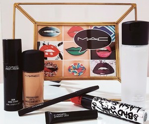 eyeliner, mac cosmetics, and make up collection image