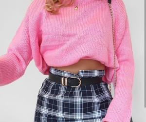 girl, pink, and 90s image