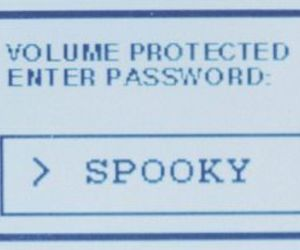 spooky and password image