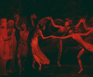 red, art, and dance image