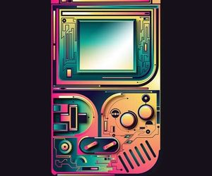 80s, colorful, and neon image