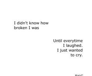 quotes, broken, and cry image