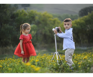 couple, cute baby, and dp image