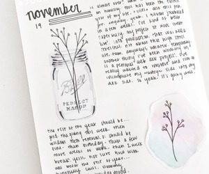 inspiration, bullet journal, and notebook image