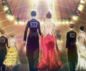 anime, love, and dance image