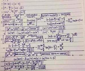 complicated, life, and math image