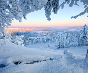 snow, landscape, and nature image