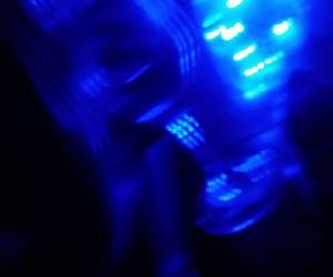 blue, drink, and light image
