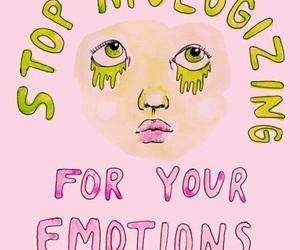 pink, quotes, and emotions image
