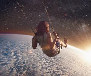art, earth, and stars image