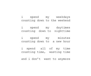 quotes, text, and time image