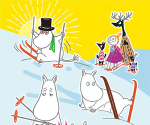 family, little my, and the moomins image