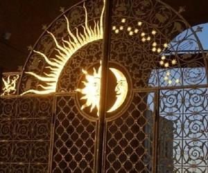 moon, sun, and light image
