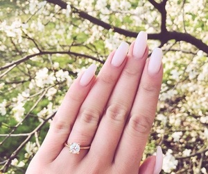nails, spring, and fashion image
