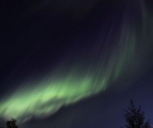 astronomy, aurora borealis, and night image