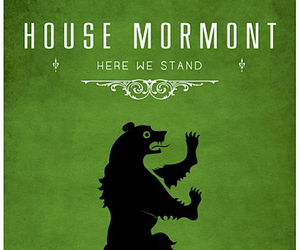 game of thrones, mormont, and house image