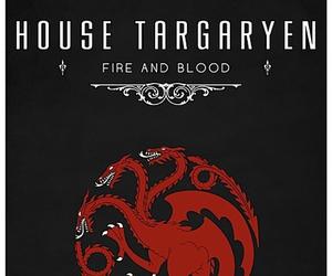 game of thrones, targaryen, and house targaryen image
