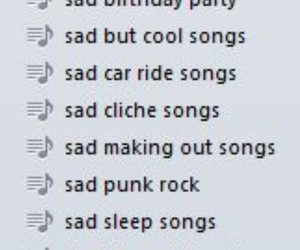 playlist, sad, and grunge image