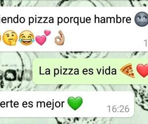 amor, Ella, and pizza image