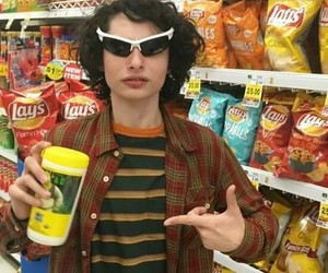 stranger things, finn wolfhard, and strangerthings image