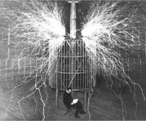 Tesla, electricity, and nikola tesla image