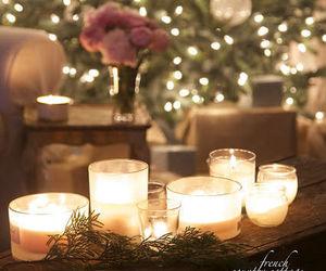 christmas tree, ornaments, and holidays image