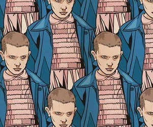 eleven, stranger things, and once image