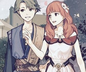 couple, fire emblem, and alm image