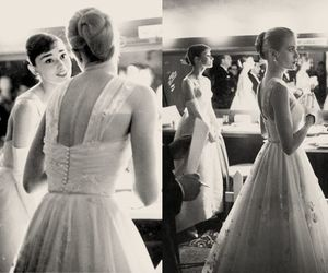 grace kelly, audrey hepburn, and oscar image