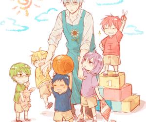 kuroko no basket, anime, and kuroko tetsuya image