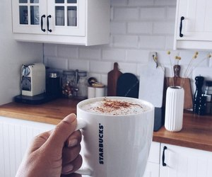 coffee, combination, and enjoyment image