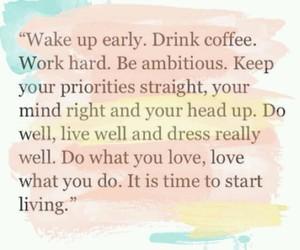 coffee, live, and dress image